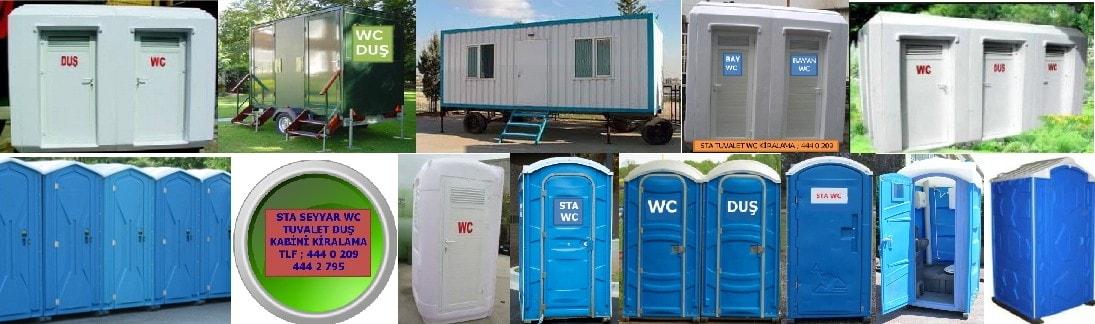 İstanbul tuvalet wc kabini kiralama , seyyar portatif tuvalet duş kabini kiralama